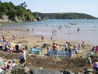 Salcombe North Sands beach